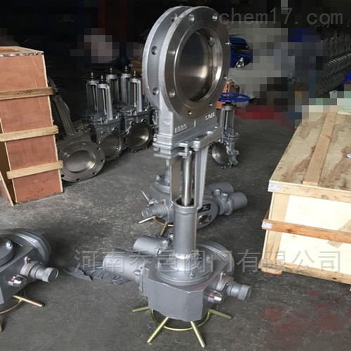 PZ973W-10NR电动高温刀型闸阀