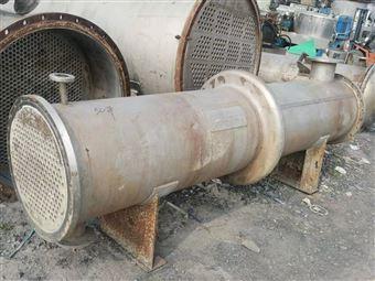 二手不锈钢316L列管式冷凝器