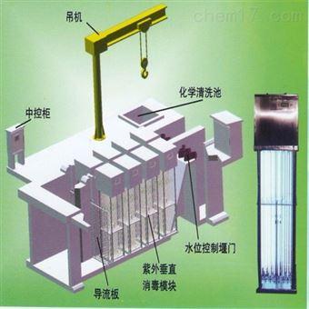 明渠式紫外线消毒器模块