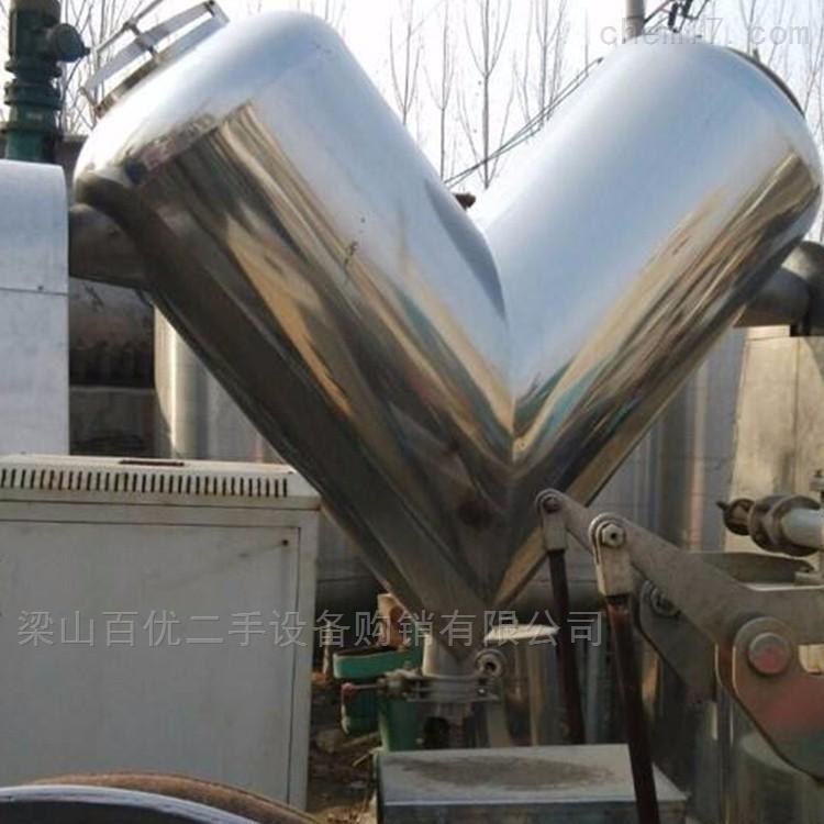 回收二手5吨槽型混合机