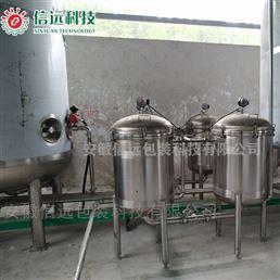 合肥信远河北张家口桶装液体冲施肥设备生产线