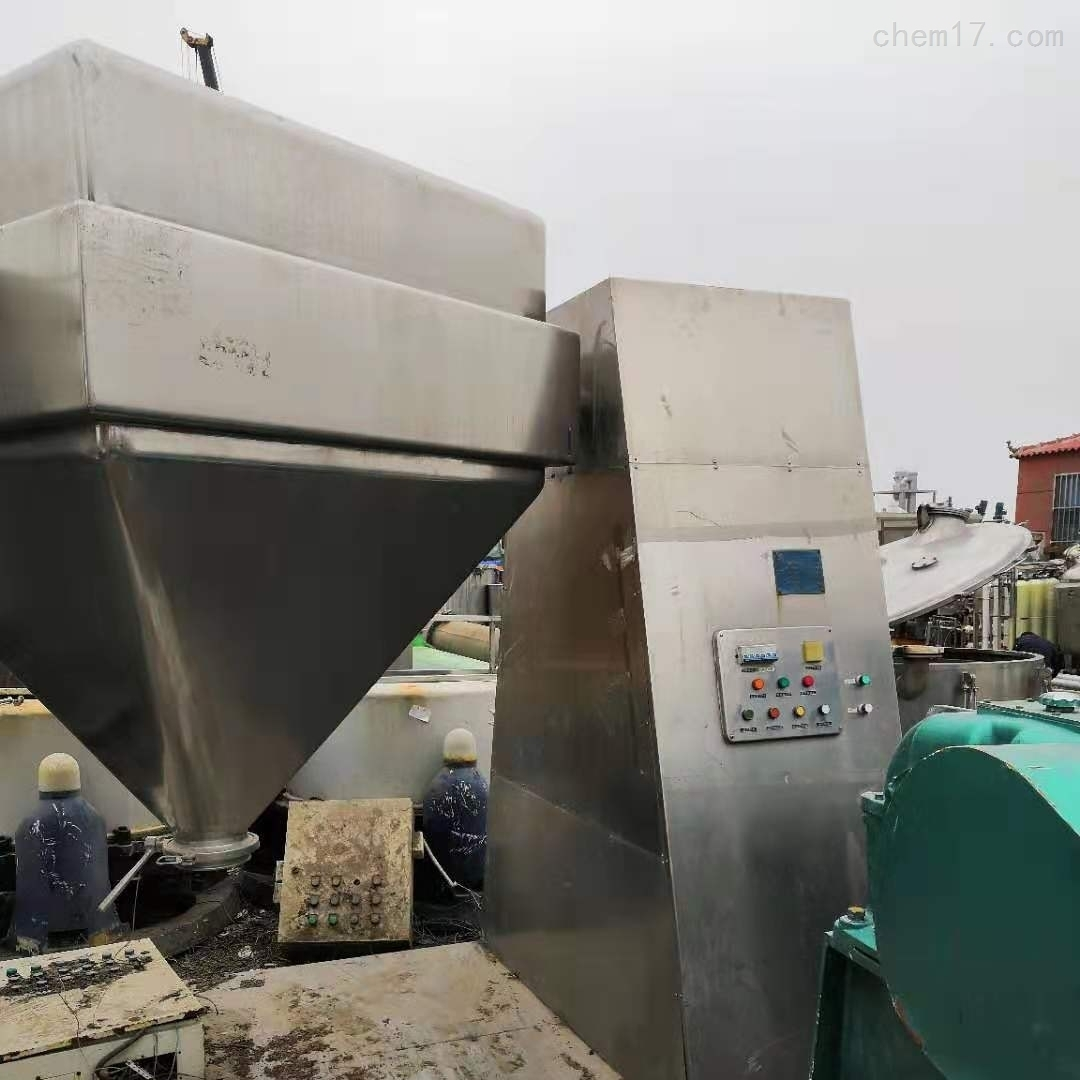 回收二手100L锥形混合机