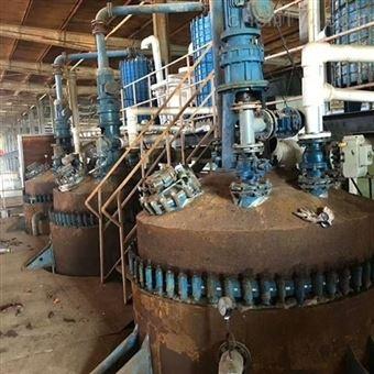 二手搪瓷反应釜3000升回收