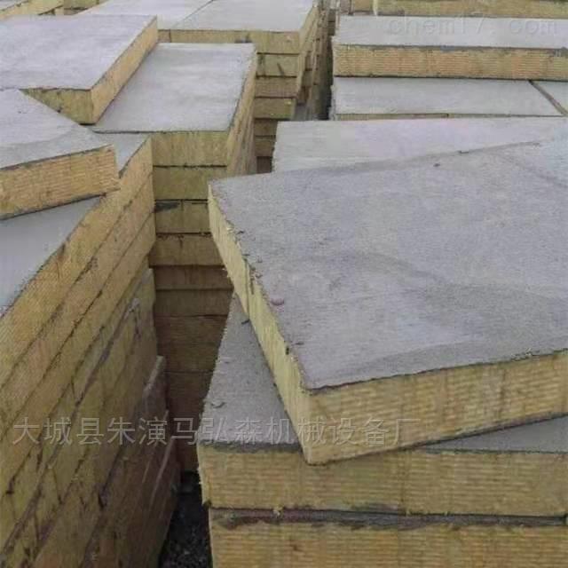 双面机制平整度砂浆复合岩棉板
