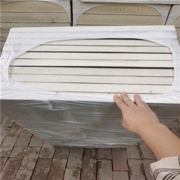 1200*600聚氨酯外墙板防火密度,保温厚度定做