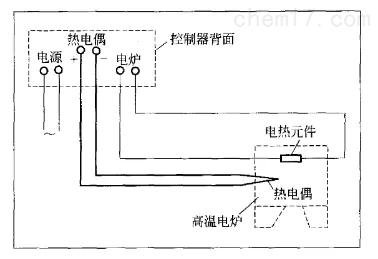 温度控制器接线示意图温度控制器接线示意图