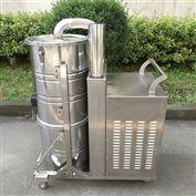 不锈钢材质150L移动式工业吸尘器