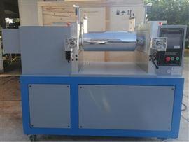HY-230SM9寸開煉機(PLC觸控型,膠料包前輥功能)