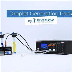 微流体液滴制备系统 液滴微流控装置