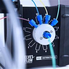 顺序微流体注射系统 多流体的切换系统