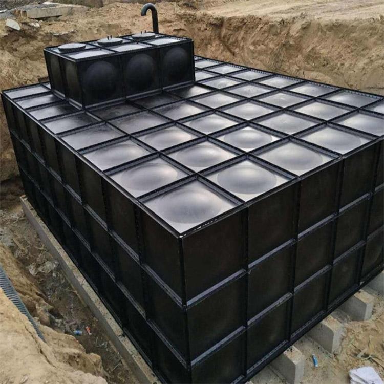 地埋碳钢水箱 304消防水箱