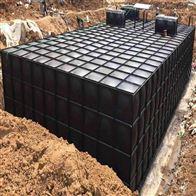 300 200 150 100立方河北地埋钢板消防水箱