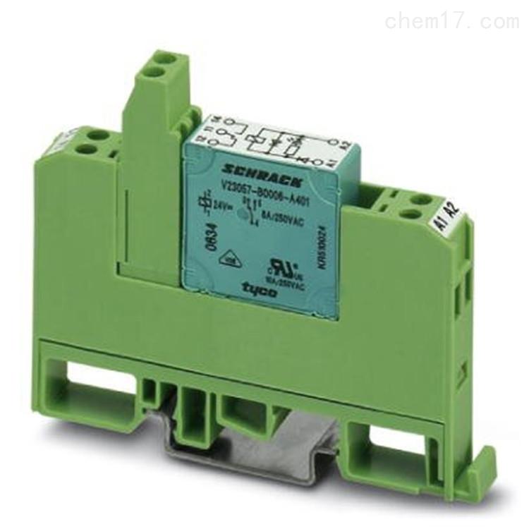 Phoenix继电器模块PLC-RPT-120UC/21/MS现货