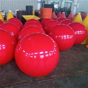 FQ1000柏泰水上直径1米警示拦截塑料浮球