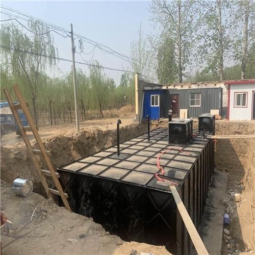 广东定制地埋一体化消防水池泵房价格