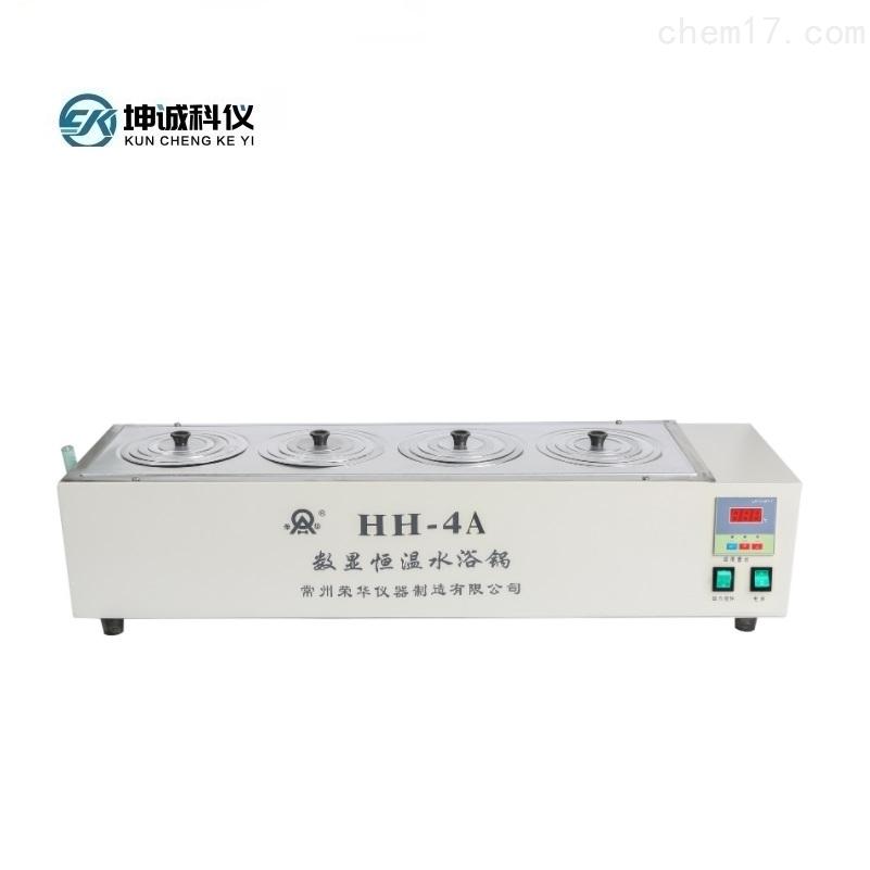 HH-4A(单)数显恒温磁力搅拌水浴锅