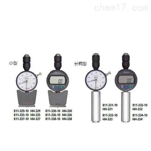 三丰811系列用于海绵橡胶和塑料的硬度计