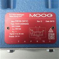 D634-341C美国穆格MOOG伺服阀