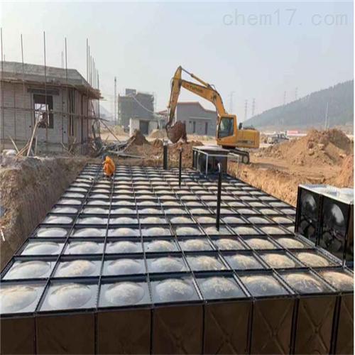 地埋式箱泵一体化泵站消防水箱质量控制