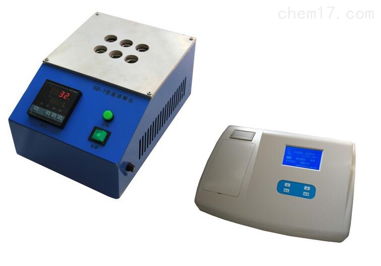 WS-04型污水四参数水质检测仪