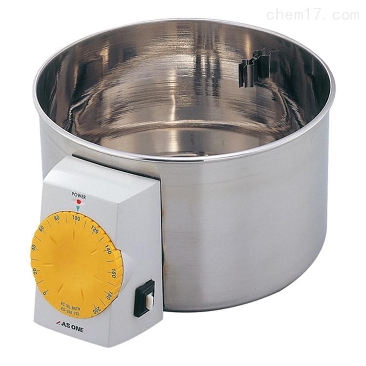 日本ASONE经济型恒温磁力搅拌油浴锅