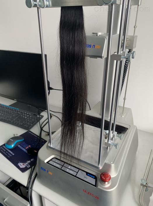 上海保圣头发梳理性测试仪、头发拉力测定