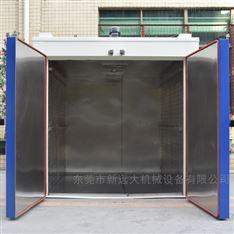 双门热风循环烘干大型烤房 水分干燥箱