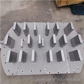 蒸氨塔金属垂直筛板塔盘安装方法