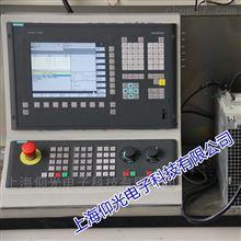 西门子数控系统802C黑屏问题维修