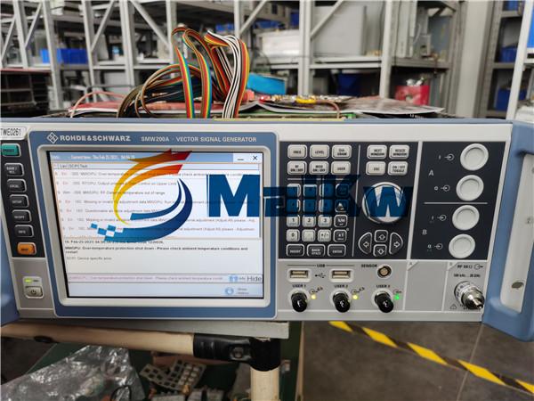 信號發生器SMW200A端口無輸出