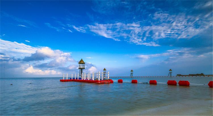 工厂案例 启动水上威尼斯鲨网浮体竣工