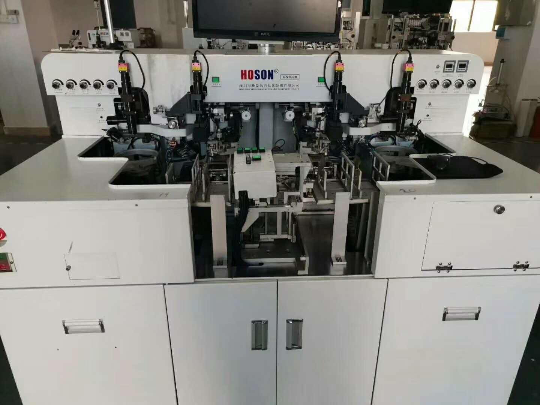 瑞文同轴镜头成功应用于固晶机设备