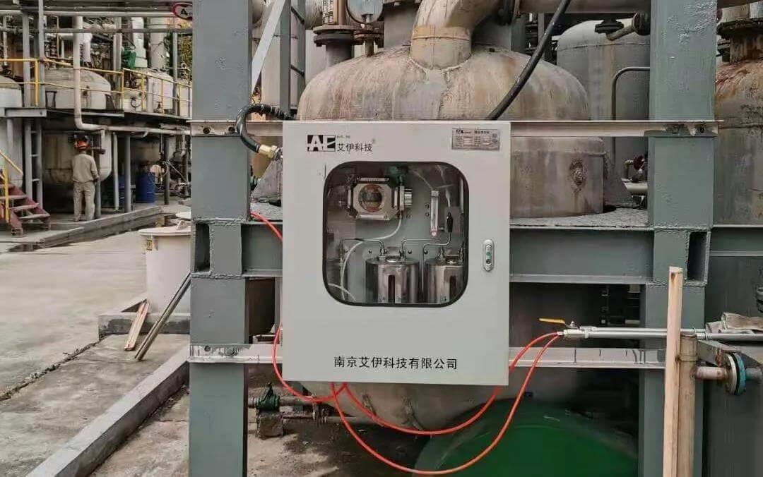 艾伊科技反应釜在线氧含量分析系统