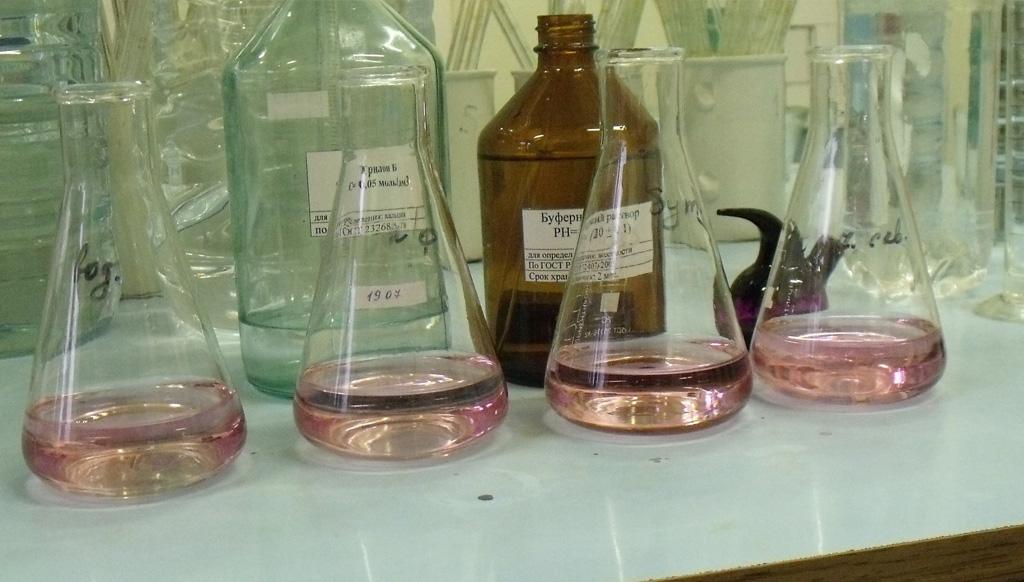 消除铁铵矾指示剂干扰因素