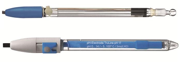 不同种类的pH电极
