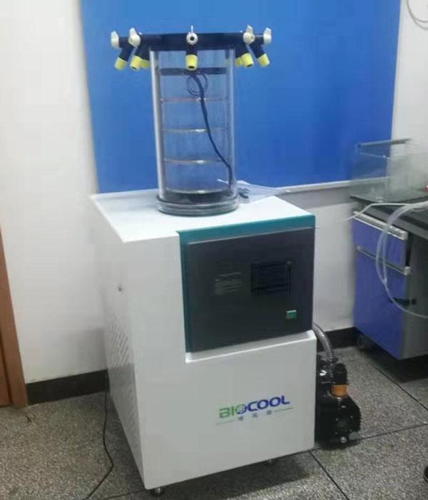 西南医科大学采购博医康Lab-1C-80冻干机  来源:www.boyikang.com