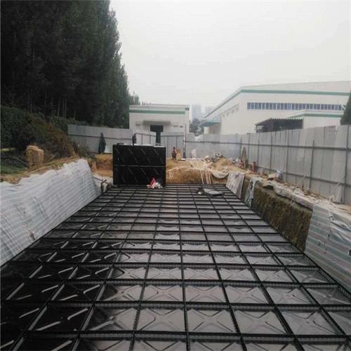 地埋箱泵一体化消防泵站施工现场