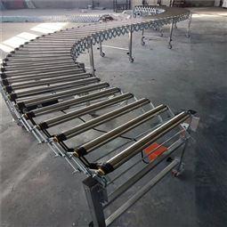 装卸货滑轮滑道传送带 电动滚筒伸缩线